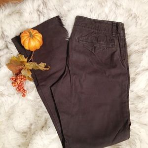 AMERICAN EAGLE 🦅 Brown Pants SLIM STRAIGHT 30/34